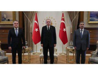 Erdoğan Azərbaycanın XİN başçısını və müdafiə nazirini qəbul edib…